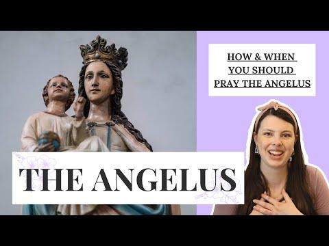 PRAYING THE ANGELUS   When & How Catholics Should Pray This Powerful (Yet Simple) Prayer