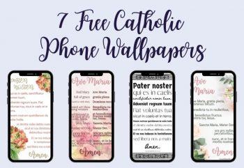 7 free catholic wallpapers