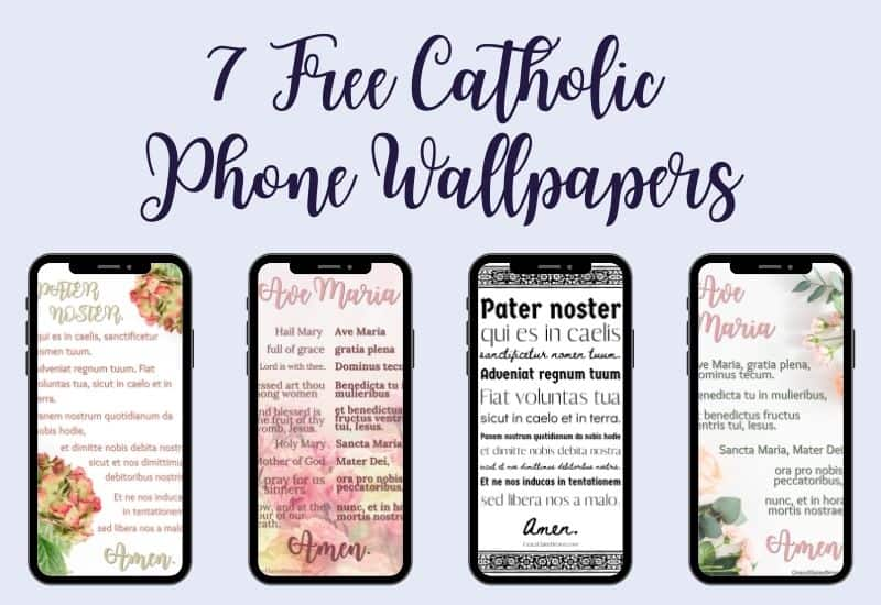 7 free catholic wallpapers