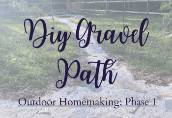 diy gravel path